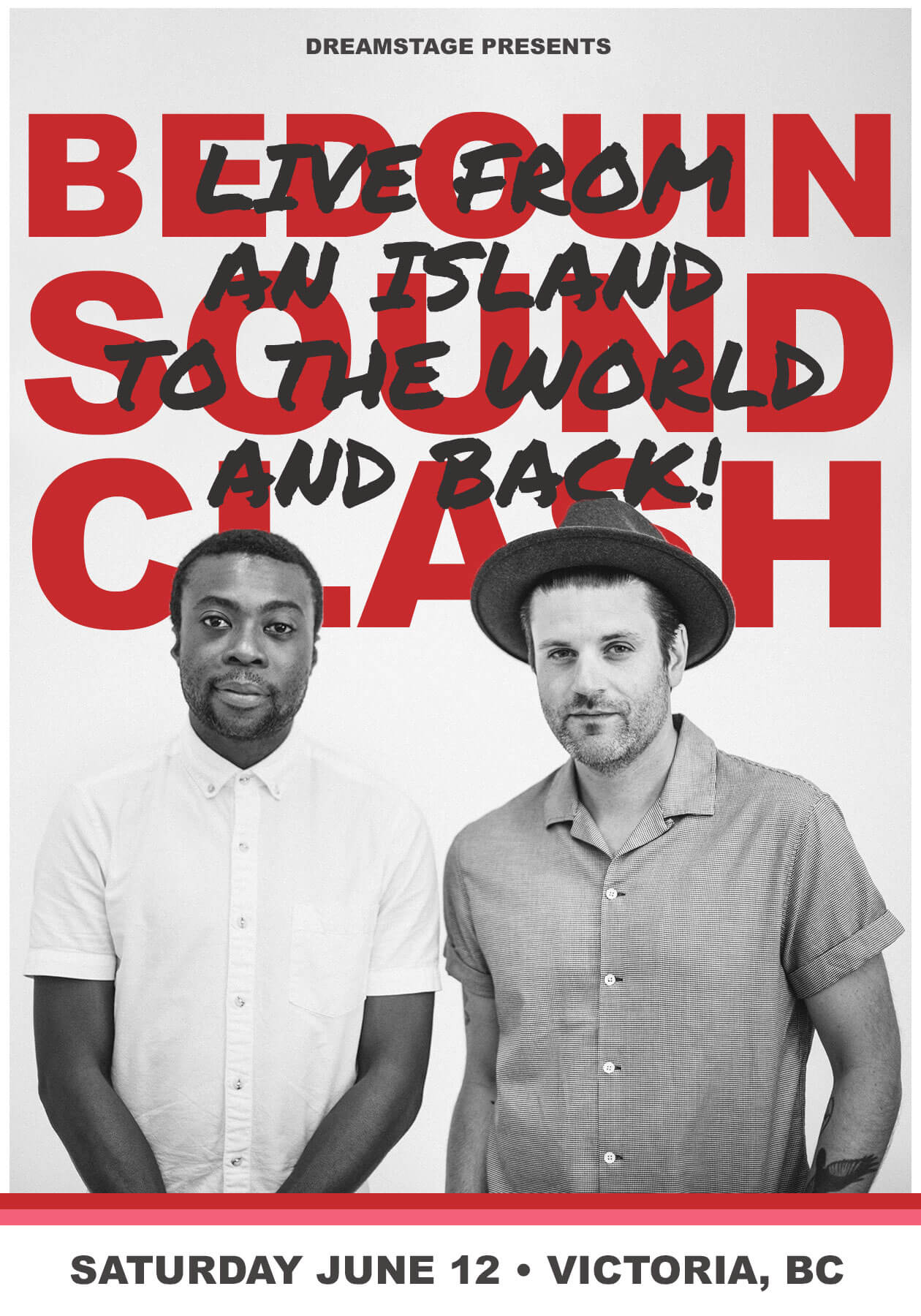 BEDOUIN SOUNDCLASH performing live, from an island to the world and back!