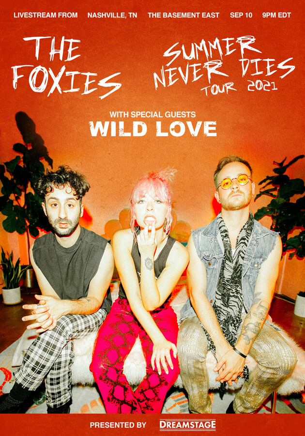 The Foxies: Livestream from The Basement East